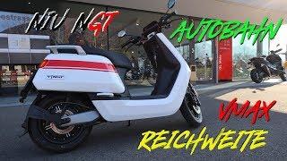 Download Niu N-GT | reale Reichweite & Vmax (1. richtige Testfahrt vom Niu N-GT) Video
