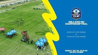 Download National Cup Girls 2000/19U Championship Final Video