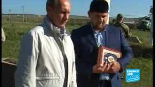 Download Russia's Putin makes surprise visit to Chechnya - F24 082409 Video