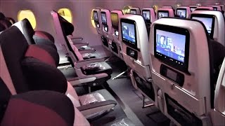 Download Qatar A350 Economy Class Review Video