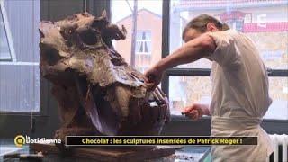 Download Chocolat : les sculptures insensées de Patrick Roger ! Video
