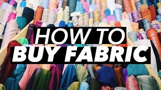 Download How to Buy Fabric (Terminology & Shopping Tips!) | WITHWENDY Video
