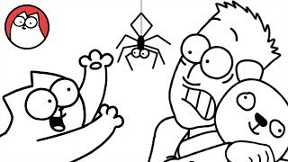 Download Spider Cat - Simon's Cat (Halloween Special) | BLACK & WHITE Video