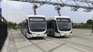 Download Electric Bus at Schiphol Airport, Netherlands Video