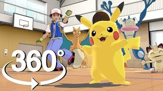 Download Detective Pikachu Dance - 360° Video! - (The First 3D VR Experience!) Video