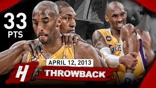 Download The Game that SHOCKED Laker Nation & Changed Kobe Bryant's Career FOREVER vs Warriors (2013.04.12) Video