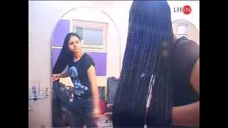 Download Styling wet hair. Video