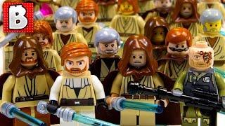 Download Every Lego Obi-Wan Kenobi Ever!!! + Rare Light-Up Lightsaber Obi-Wan   Lego Collection Video