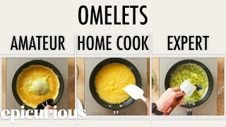 Download 4 Levels of Omelets: Amateur to Food Scientist | Epicurious Video