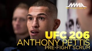 Download UFC 206: Anthony Pettis Open Workout Scrum Video