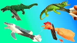 Download Cutting Open Squishy Kids Animal Toys/Scary Shark And Whale Toys/Stress Ball Emoji Cut Open Video