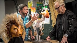 Download Behind the Scenes in The Lion King's Puppet Shop Video