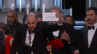 Download Oscars Mistake: Moonlight Wins Best Picture after La La Land Mistakenly Announced | ABC News Video