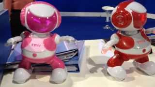 Download DiscoRobo By Tosy Dance To Music At CES 2014 1-10-14 Video