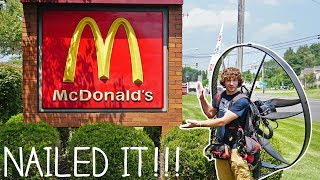 Download Flying To McDonald's On My Paramotor Video