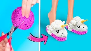Download 11 DIY Miniature Slime Stress Relievers / Clever Barbie Hacks And Crafts Video