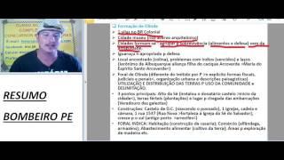 Download Resumo Bomebiro PE: Formação de Olinda Video