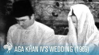 Download Aga Khan IV's Wedding in Paris, France (1969) | British Pathé Video
