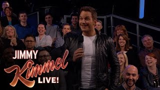 Download Chris Pratt Surprises Kimmel Audience with New Trailer for Guardians of the Galaxy Vol. 2 Video