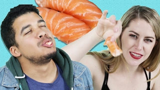 Download Sushi Lovers Guess Cheap Vs. Expensive Sushi Video