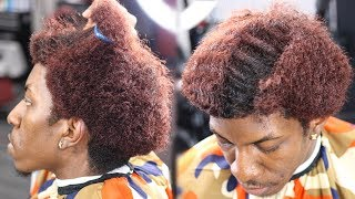 Download MUST WATCH!!!! HAIRCUT TRANFORMATION SIR CRUSE'S END OF 6 MONTH 360 WAVE WOLF Video