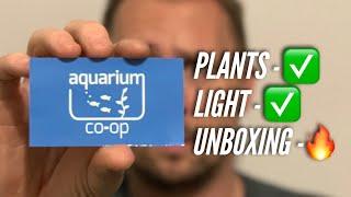 Download Aquariumcoop unboxing Aquarium plants and brand new LIGHT! | Jay Wilson Video