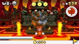 Download Super Mario 3D Land - World 8 Final Castle Video