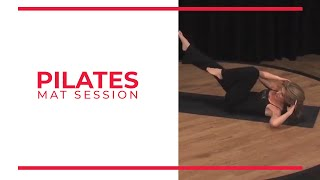 Download Pilates Mat Session | Walk At Home Fitness Videos Video