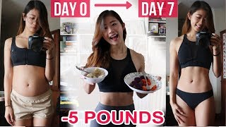 Download HOW I LOST 5 LBS IN ONE WEEK: WHAT I EAT IN A DAY TO LOSE WEIGHT | Healthy Food Diary Video