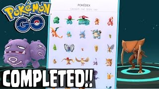 Download Pokemon GO | COMPLETED MY POKEDEX!! Final Two Pokemon Registered! BEATING POKEMON GO? What Now! Video