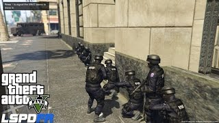 Download LSPDFR Police Mod Ep 58 | Pacific Bank Heist | Assorted Callouts | NYPD ESU Swat Patrol Video