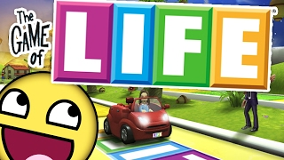 Download MAKE THE MOST MONEY (HILARIOUS BOARD GAME SUNDAY) - THE GAME OF LIFE Video
