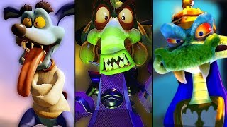 Download ALL Boss Races in Crash Team Racing Nitro Fueled + Final Boss & True Ending Video