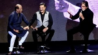 Download Rare Moment: Legends Amitabh Bachchan, Kamal Haasan, Rajinikanth Talk About Ilaiyaraaja Video