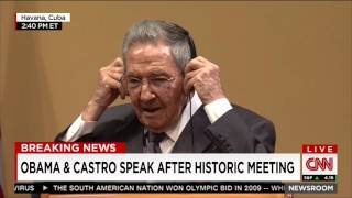 Download Raul Castro: What political prisoners? Video
