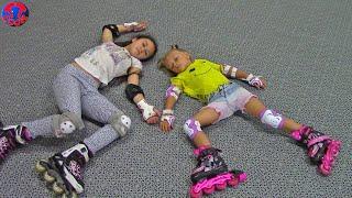 Download Влог Едем на роллердром Кататься на Роликах Видео для Детей Video