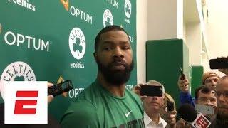 Download Marcus Morris: 'I'm probably the best' to guard LeBron James besides Kawhi Leonard | ESPN Video