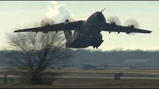 Download Royal Air Force A400M Atlas at Scott AFB Dec 2016 Video