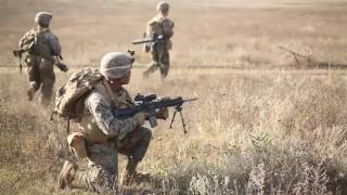Download US Marine During Exercise Platinum Lynx 16.5 B-roll Video