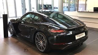 Download Porsche 718 Cayman Black - Walkaround Video