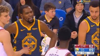 Download Kevin Durant Wanna Fight Bobby Portis For Confronting Him & Both Exchange Words! Warriors vs Bulls Video