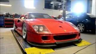 Download RARE Ferrari F40 GTE - 1 of 4 in the world!!!! Walkaround + Pictures Video
