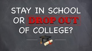 Download Dropout or stay in school? Video