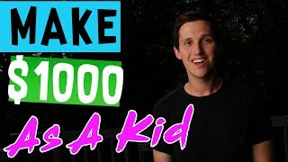 Download How To Make $1000 Dollars As A Kid! [The LAZY Way] Video