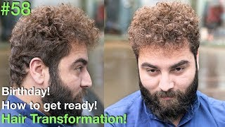 Download Birthday | Hair Transformation | Birthday Hairstyles | Curly Hair | TODAY Video