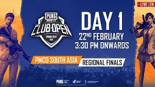 Download [EN] PMCO South Asia Regional Finals Day 1 | Spring Split | PUBG MOBILE CLUB OPEN 2020 Video
