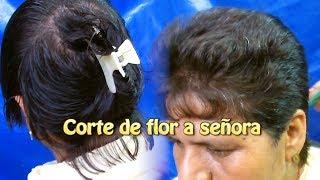 Download Corte de flor a señora  Creaciones y manualidades angeles Video