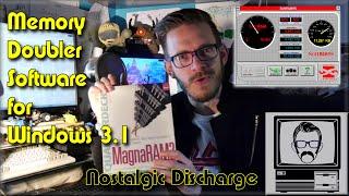 Download Memory Doubler Software & SoftRam '95 Scam - Nostalgic Discharge | Nostalgia Nerd Video