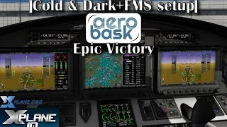 Download |Cold & Dark + FMS Setup| Aerobask Epic Victory [X-plane 10] Video