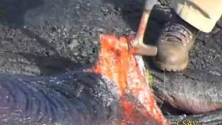 Download CSAV Hawaii: Sampling Molten Lava UH Hilo Geology Department Video